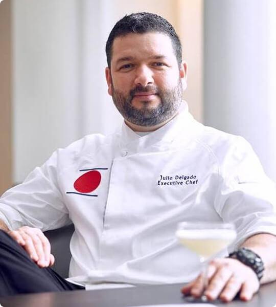 Chef Julio Delgado