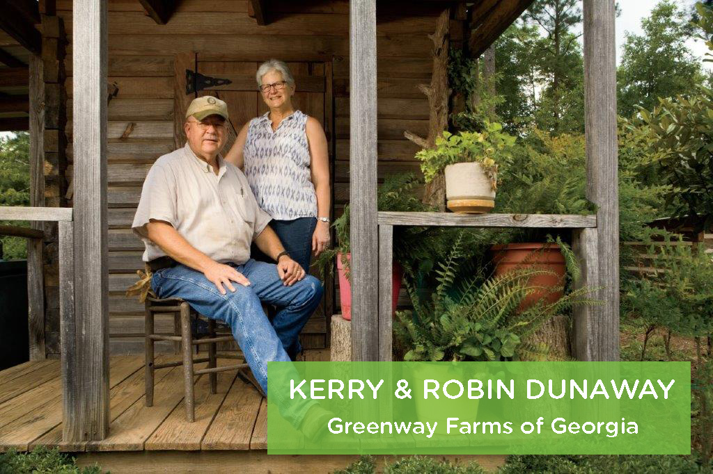 Kerry and Robin Dunaway, Greenway Farms of Georgia