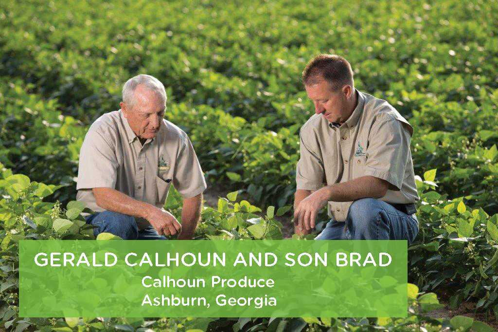 Gerald Calhoun and son Brad