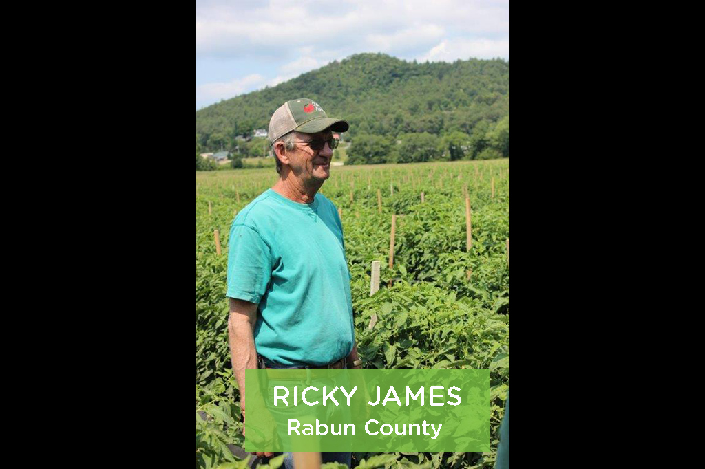 Ricky James, Rabun County