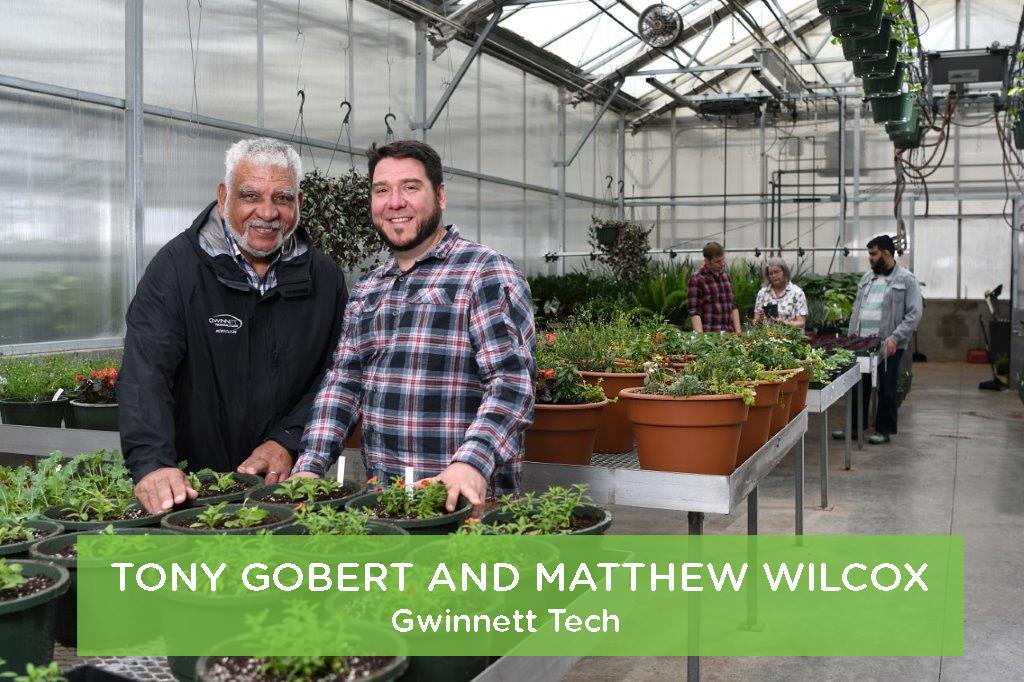 Tony Gobert and Matthew Wilcox